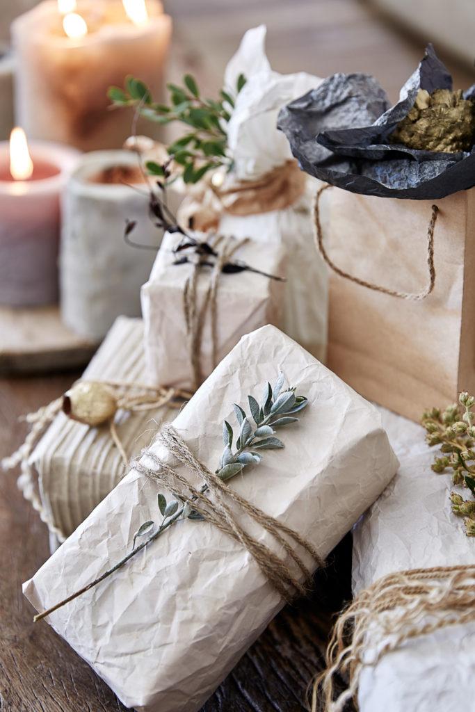 Puritische Geschenksverpackung
