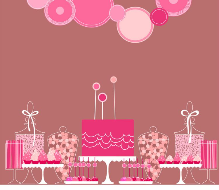 Skizze für einen Sweet Table www.jubeltage.at