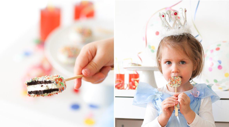 Oreo Pops: Vegan und super als Snack zum Fasching oder den Kindergeburtstag