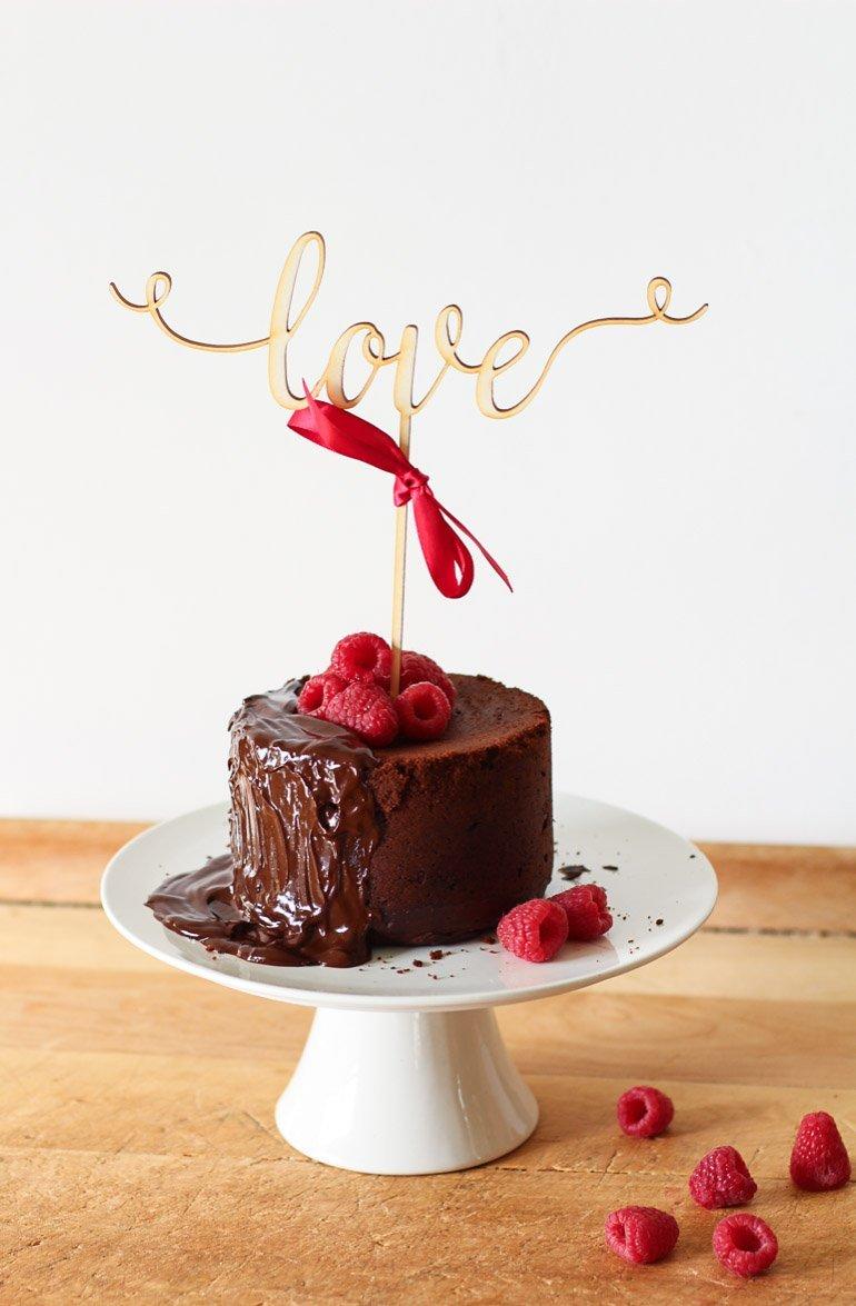 Schokoladiges Rezept Fur Einen Love Cake Zum Valentinstag