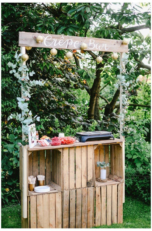 Party zum 30. Geburtstag im Garten mit zauberhaften Überraschungen, Dekoration, Ideen und Crepebar