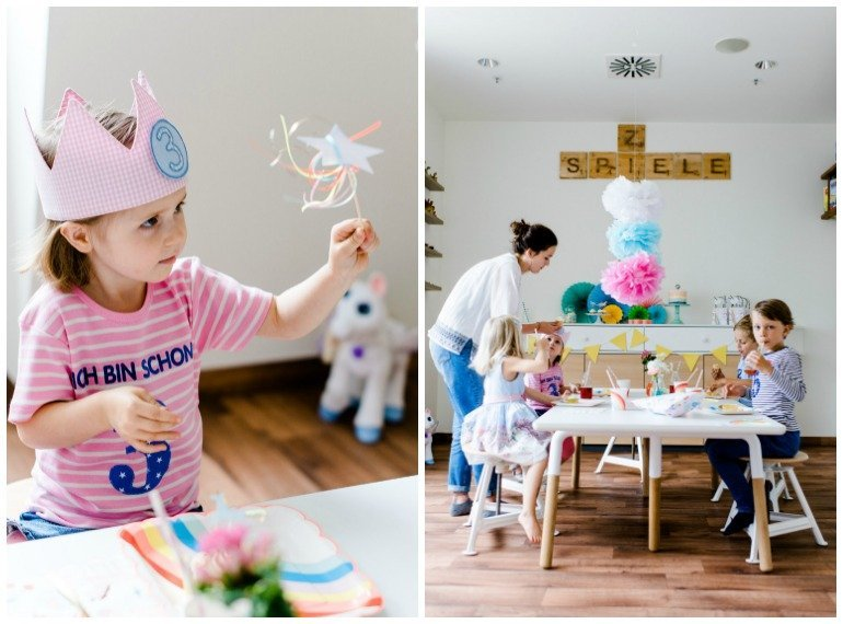 Einhornparty Little Pony Party Kindergeburtstag