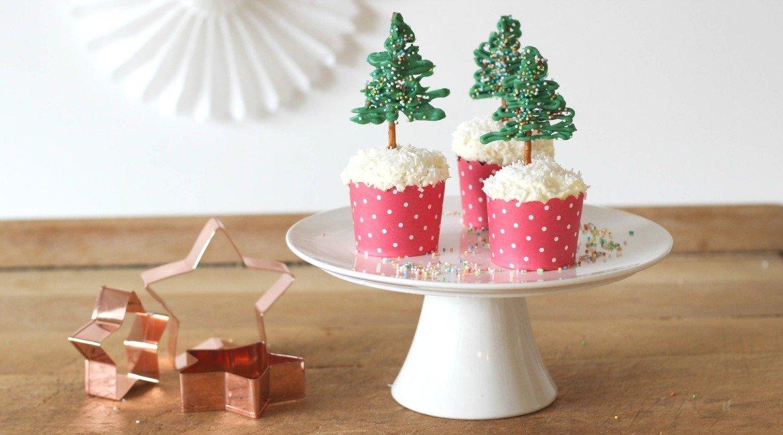 Rezept Tannenbäumchen als Topper für Weihnachten