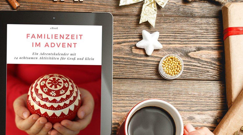 Kostenloses eBook zum Download: Familienzeit im Advent