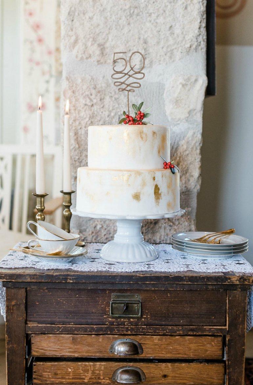 Goldene Hochzeit: Ein ganz besonderer 50. Hochzeit mit vielen liebevollen Details.