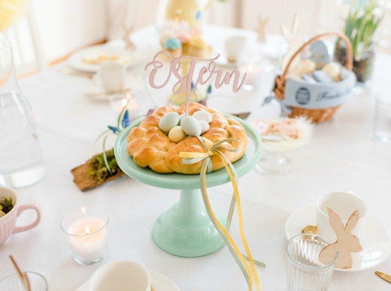 Ostern feiern mit vielen Dekoideen und Geschenkideen in Pastellfarben