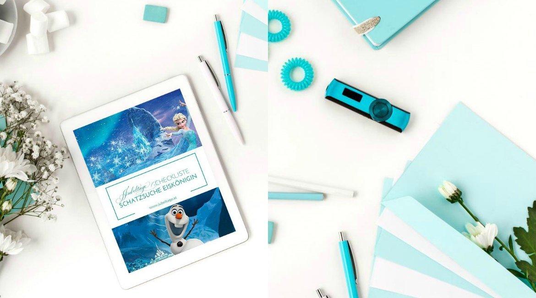 Schatzsuche mit Olaf - Frozen - Anna & Elsa für den Kindergeburtstag