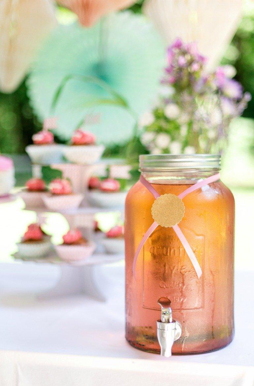 Prinzessinnenparty im Sommer: schöne Idee und DIY für eine Geburtstagsfeier im Freien