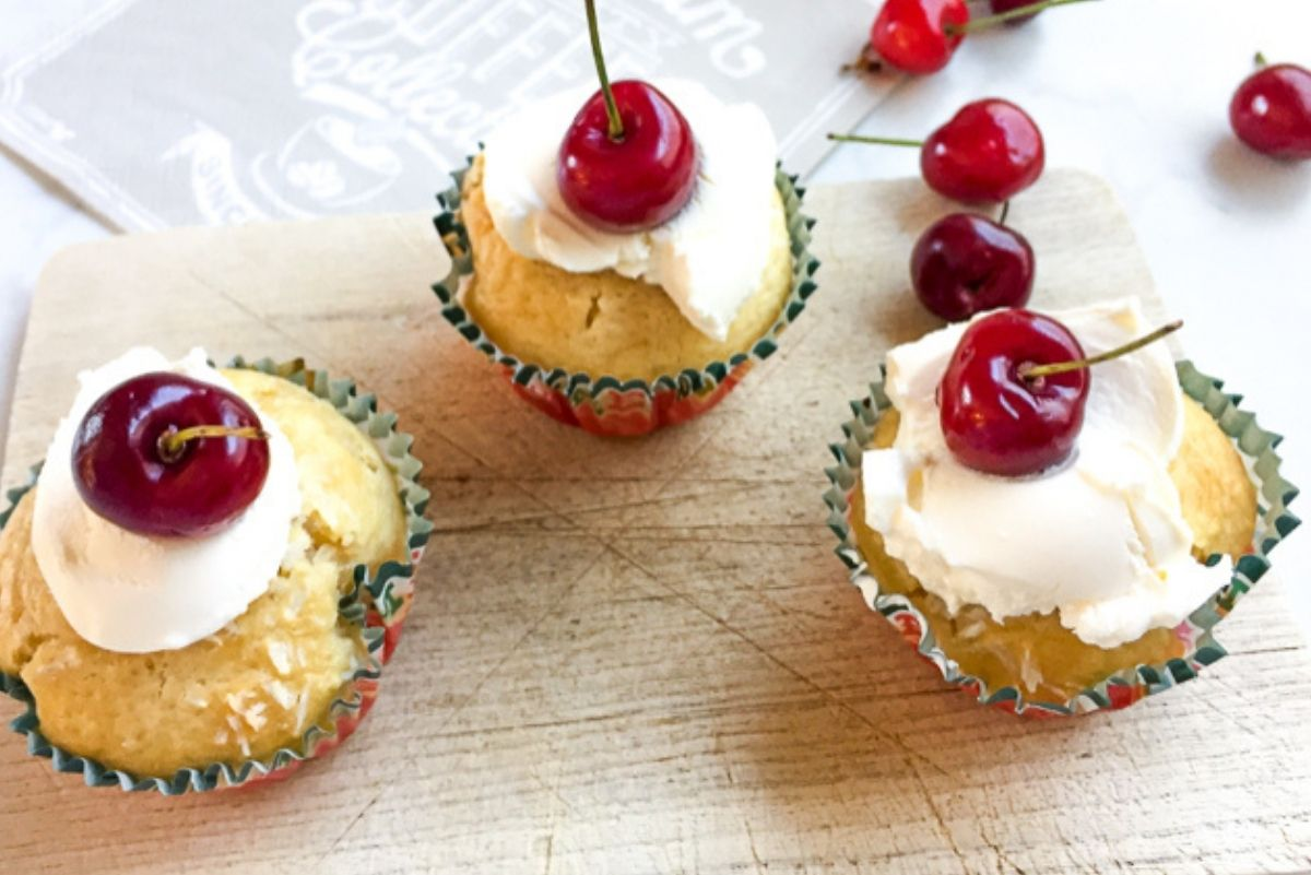 Rezept Kirsch Kokos Muffins (1)