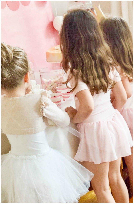 Ballerina Geburtstag in Rosa mit liebevollen Details und DIY-Ideen