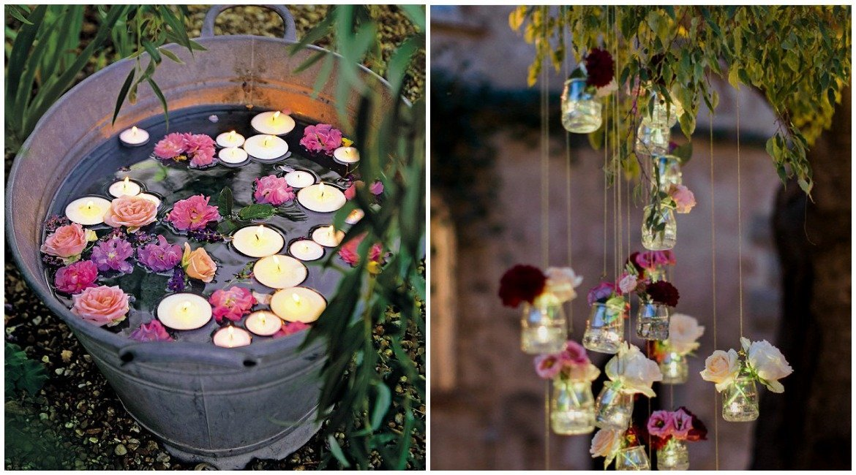 Ideen für die Beleuchtung zur Gartenparty oder Sommerfest