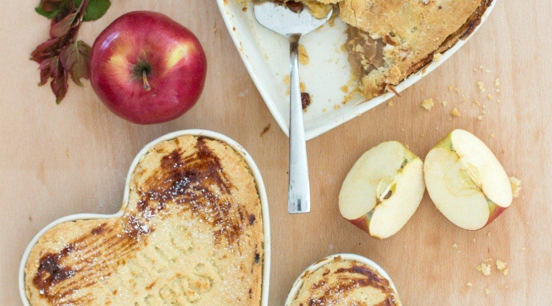 Rezept gedeckter Apfelkuchen nach Omas Art