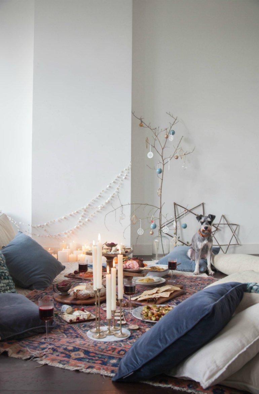 Weihnachten im Boho Chic Style - Dekoration und DIY Ideen