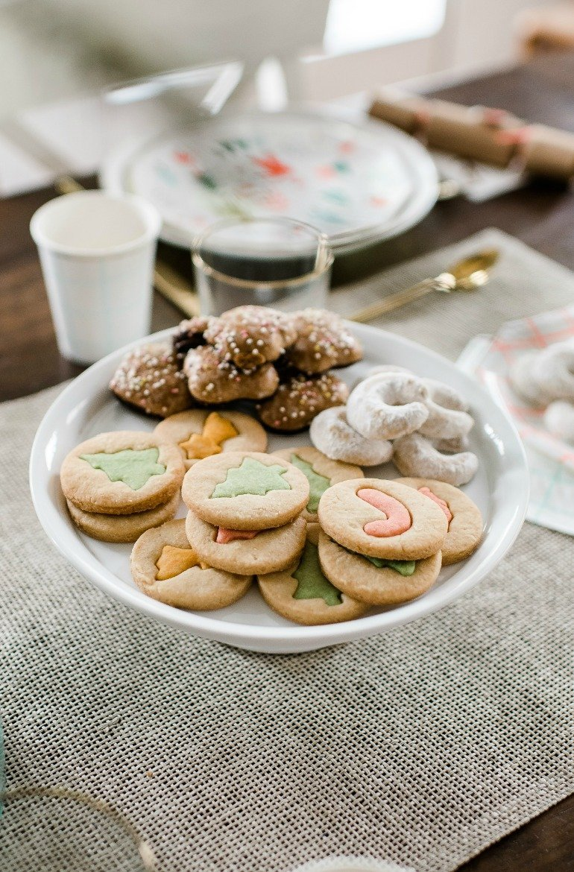 Weihnachten Rezept Muerbeteig Kekse