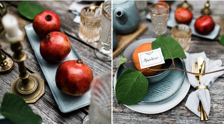 Herbstliche Dekoration zum Jahrestag von Seelensachen Fotografie