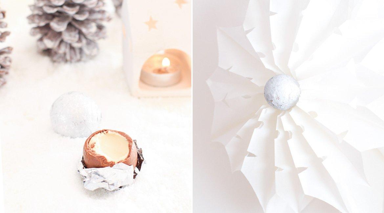DIY Winterdeko: Sterne aus Butterbrottüten