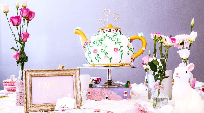 Inspirationen für Teeparty wie bei Alice im Wunderland