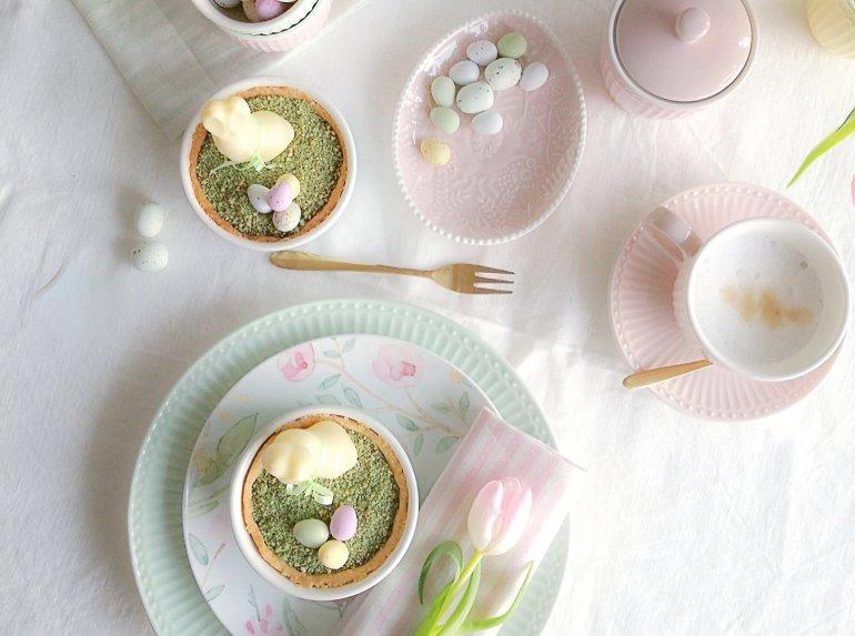 Ideen für die Ostertafel mit Greengate & essbarem Moos