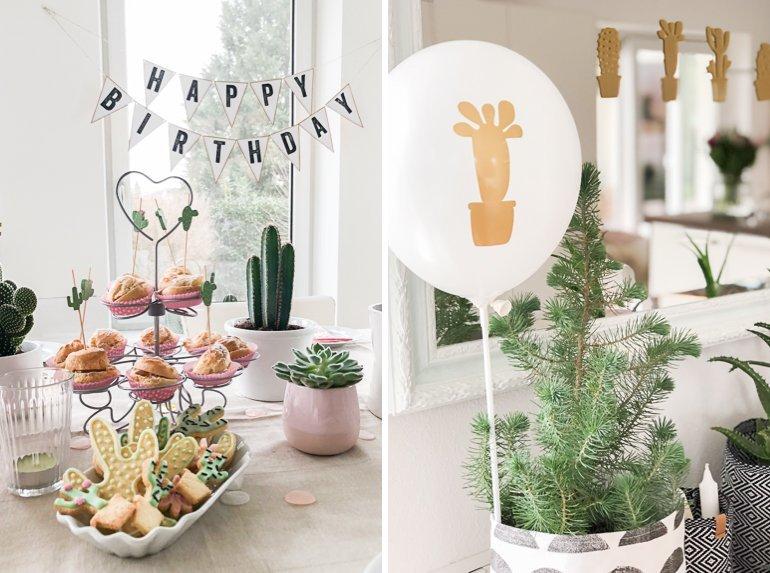 Eine Kaktusparty für Teenager zum Geburtstag