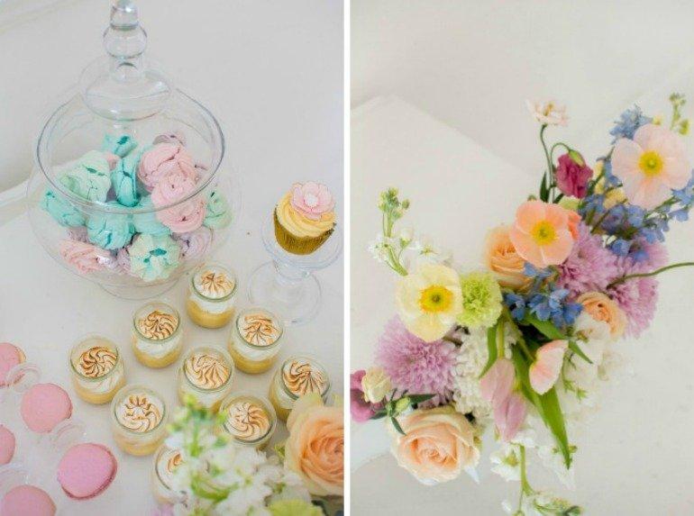 Blütentraum Teeparty 60. Geburtstag mit vielen Deko-Ideen und leckeren Rezepten