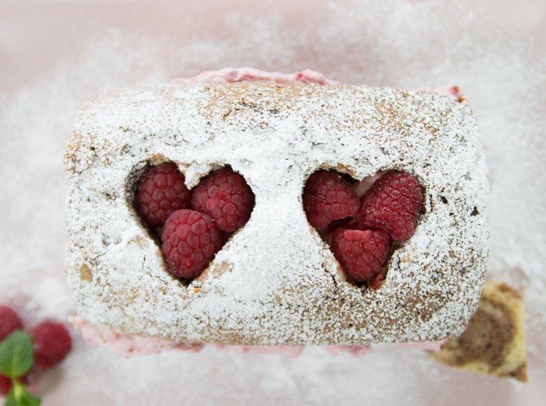 Leckere Uberraschung Ohne Backen Marmor Kuchen Mit Cremigen