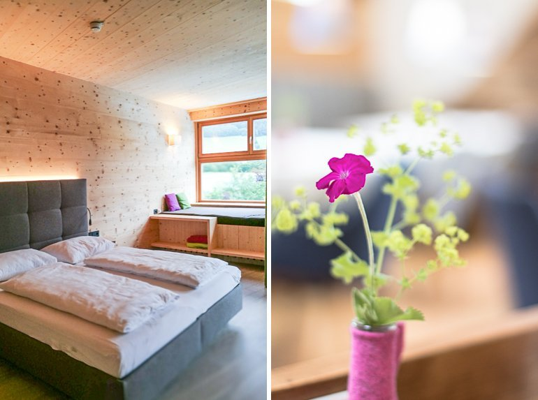 Auszeit im Hotel Molzbachhof Holz, Natur & Wellness