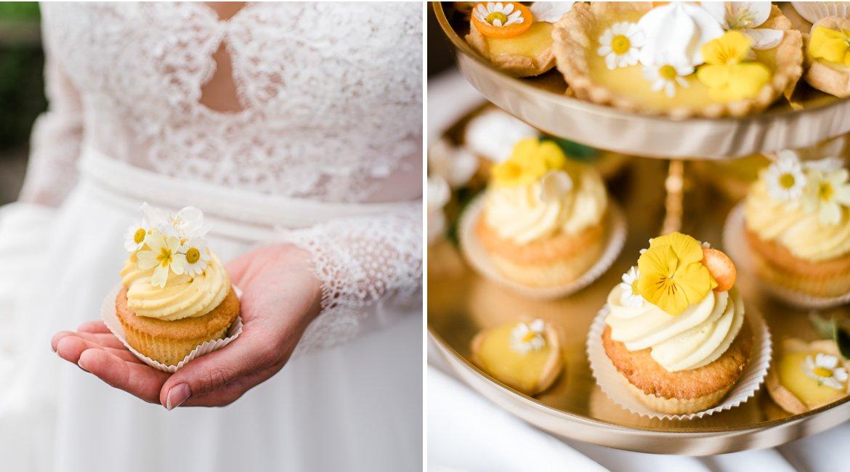 Einfaches Rezept für Zitronen Cupcakes