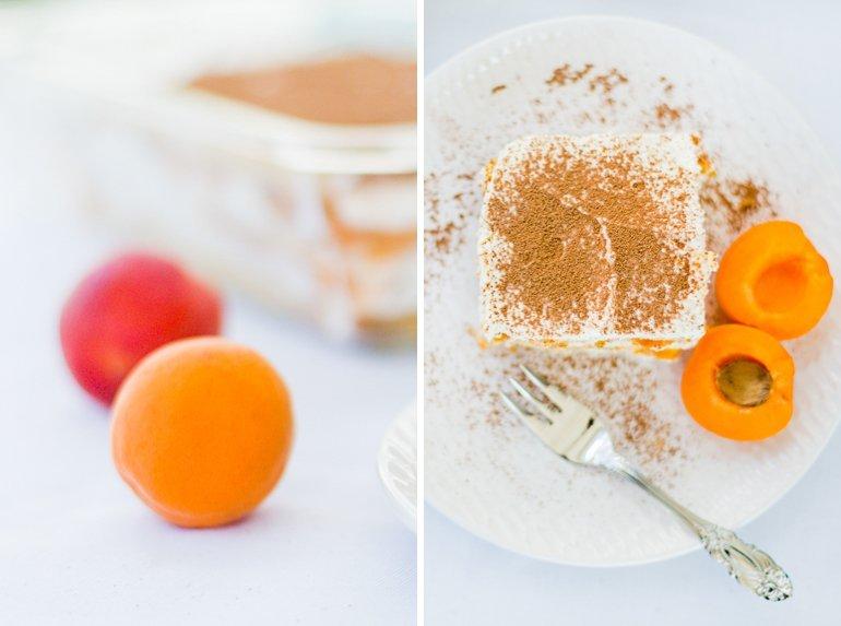 Rezept für Marillen Aprikosen Tiramisu