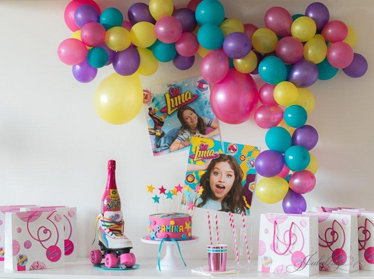 Soy Luna Party Kindergeburtstag Torte