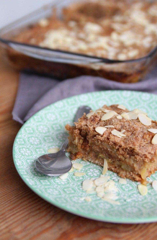 Schnelles und leckeres Rezept für einen Ayurvedischen Apfelkuchen