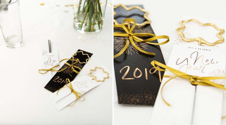 Wunderkerzen Sternspritzer DIY für Silvester und Neujahrsparty