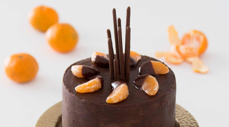 Leckeres Rezept für eine Mandarinen Torte für Weihnachten oder andere Jubeltage