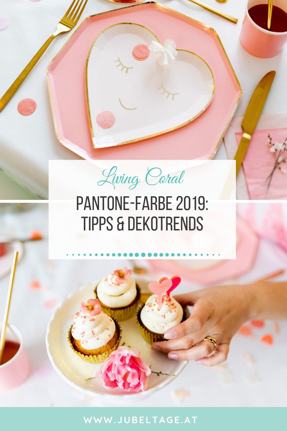 Coral Living Pantone Farbe 2019: Tipps und Dekotrends
